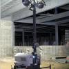 夜间混凝土浇灌现场-多功能移动灯塔LTN 6L